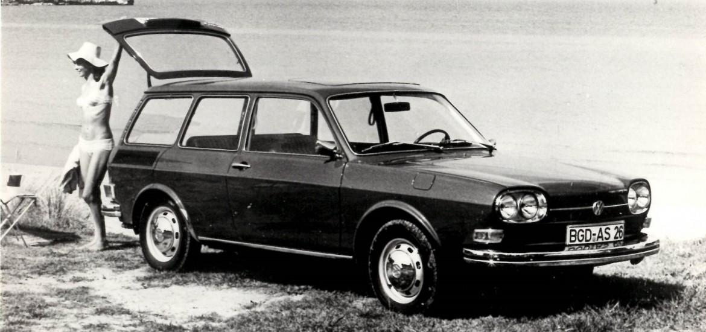 VW 411 LE Variant 1969 year